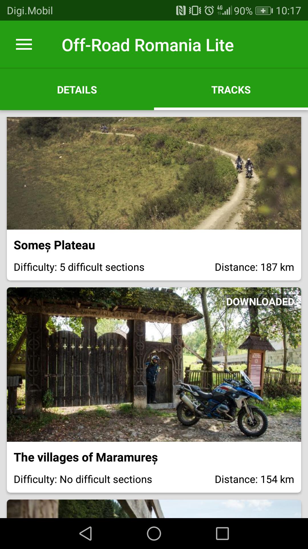 New mobile app: Off-Road Romania | Carpathian 2 Wheels Guide